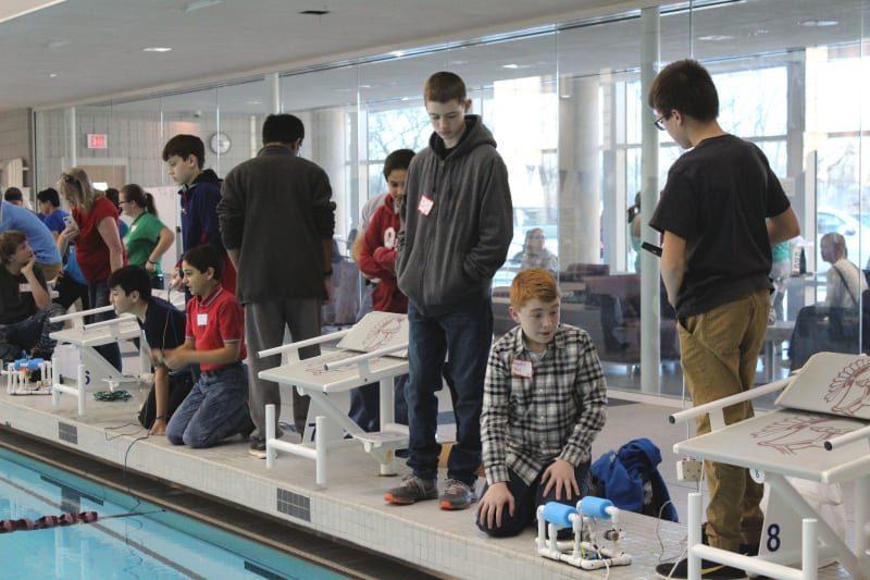 Setting up the SeaPerches