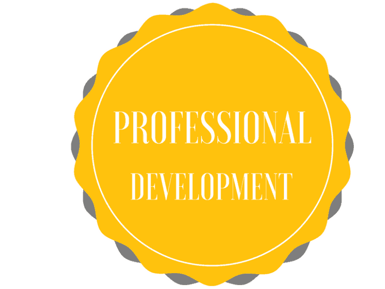 Professional Development Button