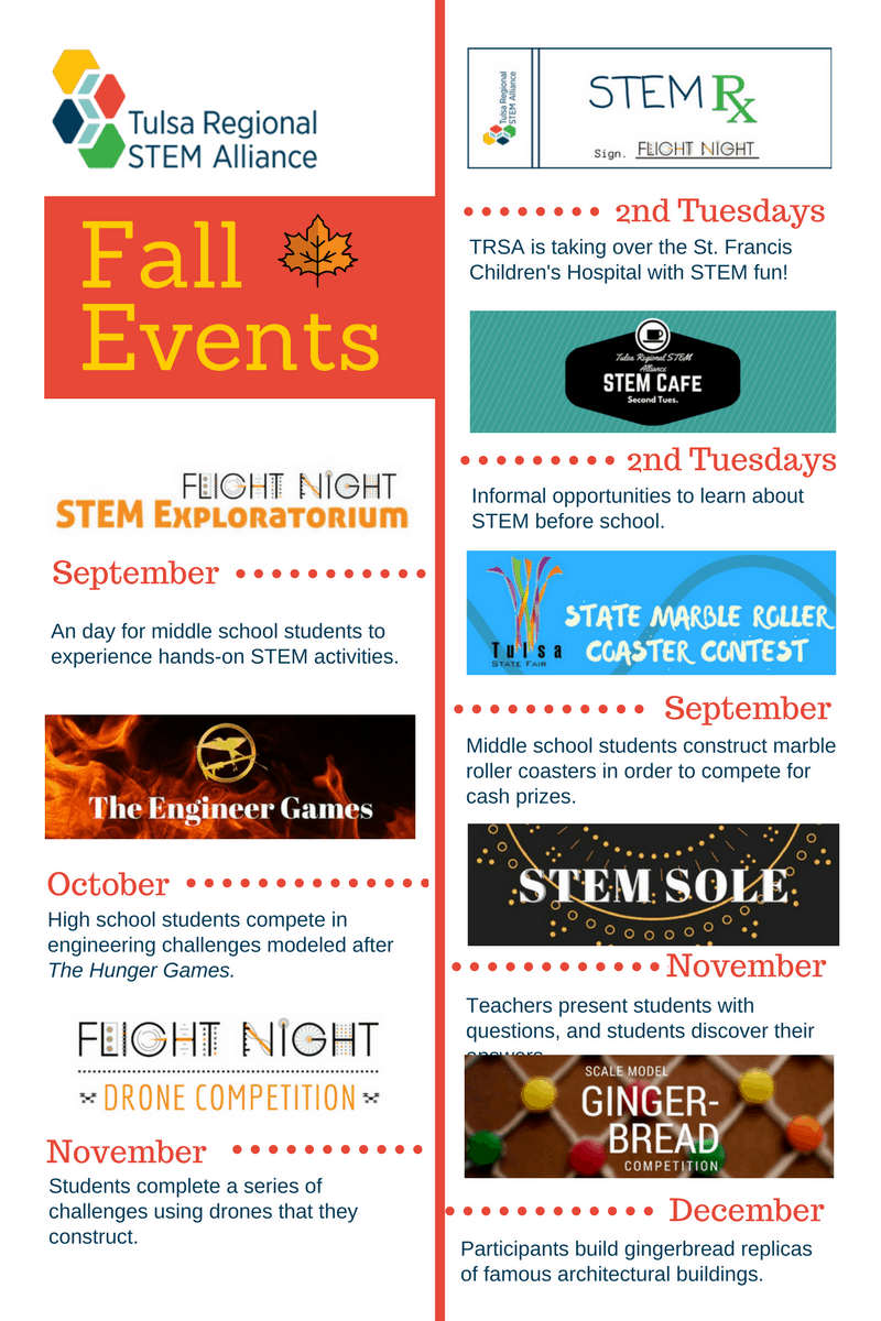 Fall Events Flyer