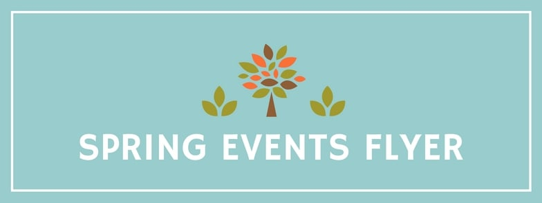 Spring Events Flyer
