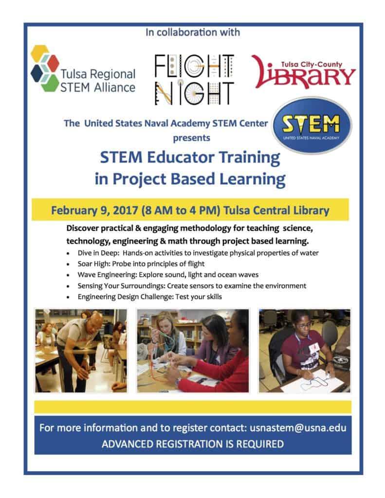 Tulsa Engineering Challenge Stem Educator Training In