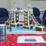 Tower Bridge made of gingerbread