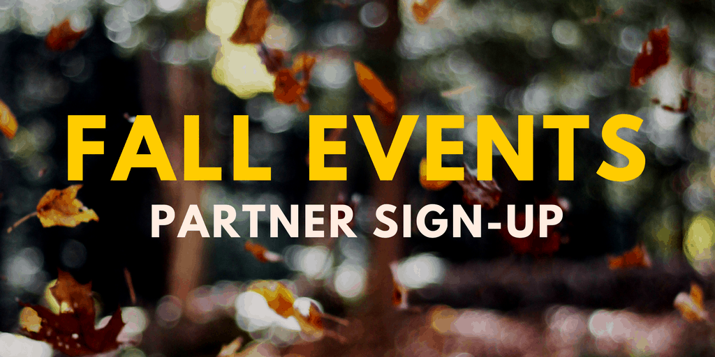 link to fall event partner sigh-up form