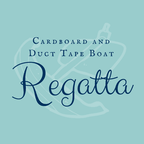 Cardboard and Duct Tape Boat Regatta