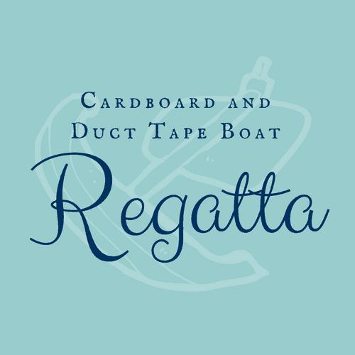 Cardboard and Duct Tape Boat Regatta