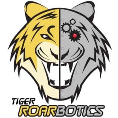 Tiger ROARbotics logo for Broken Arrow High School FIRST Robotics Team