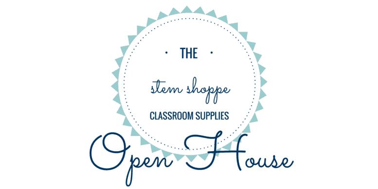 STEM Shoppe classroom supplies Open House