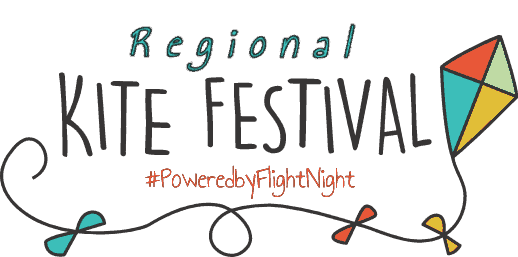 Regional Kite Festival Powered by Flight Night logo