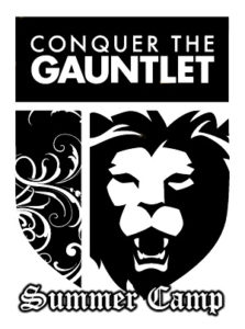 Conquer the Gauntlet Summer Camp logo