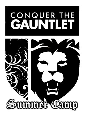 Conquer the Gauntlet Summer Camp logo