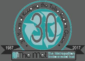 The Metropolitan Environmental Trust (M.e.t.) logo
