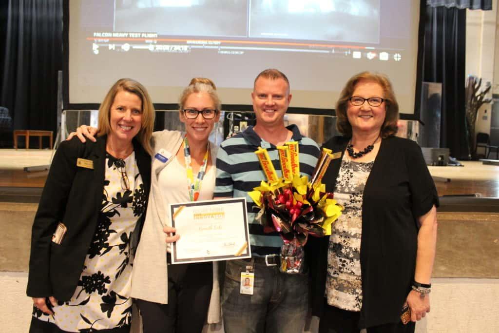 Overall Winner of the Flight Night STEM Innovator Award Kenneth Cole