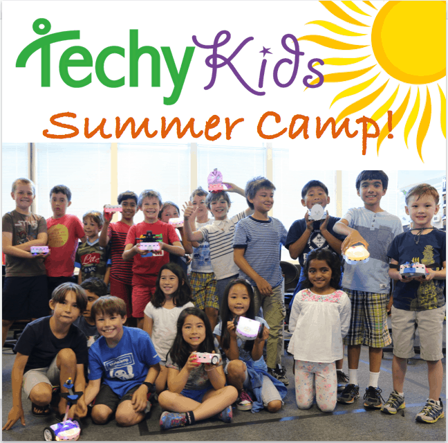 Techy Kids Summer Camp