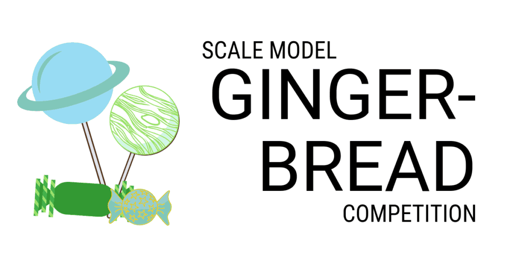 Scale Model Gingerbread Competition header